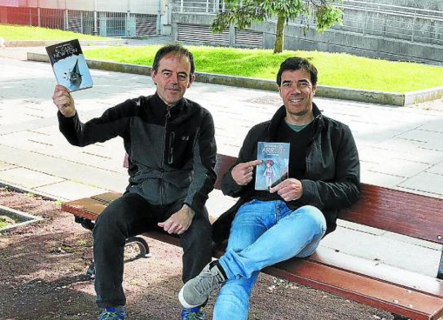 Arretxe y Arriola vuelven con novelas negras «a la vizcaína»