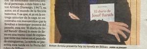 Artículo El correo, El diario de Josef Barath